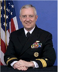 Rear Admiral David Titley is a panelist Tuesday on national security implications of climate change.