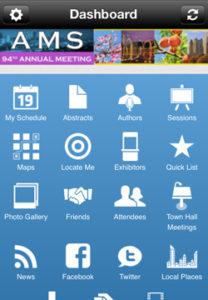 annual app screenshot